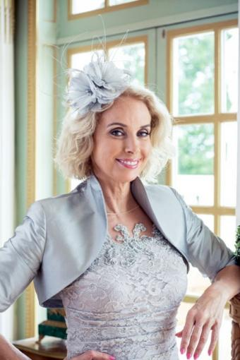 Mother of the bride hat at cocofashions.com