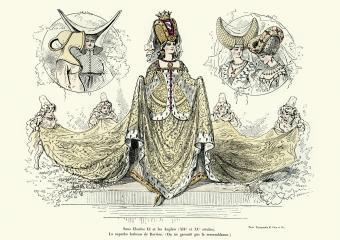 Ladies fashion 14th and 15th Century