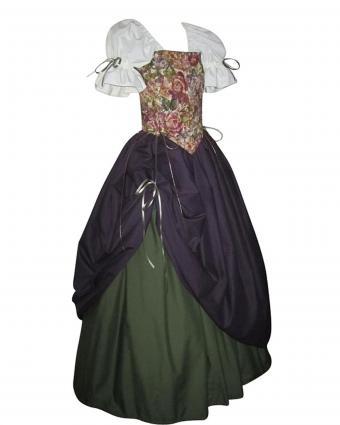 Pearson's Renaissance Shoppe - Captivating Countess Medieval Bodice Set