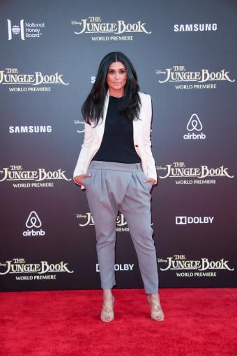 Rachel Roy at the Jungle Book Los Angeles Premiere