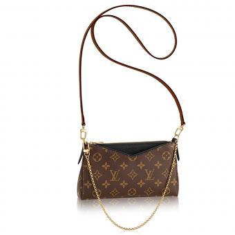 Louis Vuitton Monogram Clutch Handbag