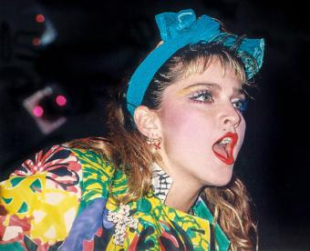 Madonna Outfits in 1980s