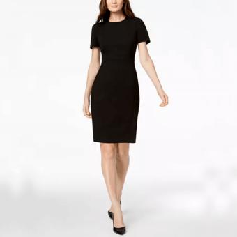 Calvin Klein Seamed Dress