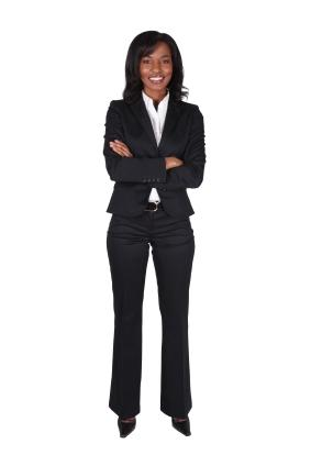 pants suit for athletic body type