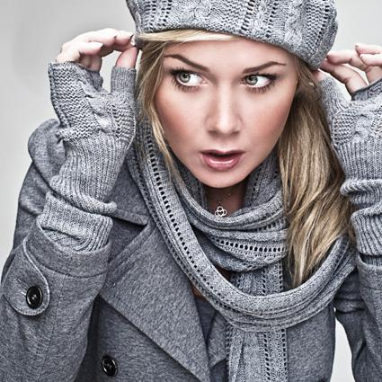 Layered Long Scarve