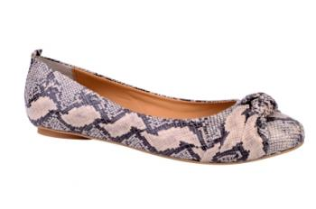 printed knotted flats
