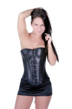 Shaper Corset Leather Bustier