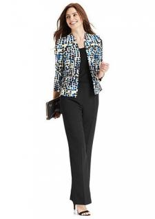 Kasper Printed Jacket and Shell Trousers