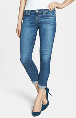 AG 'The Stilt' Roll Cuff Skinny Jeans