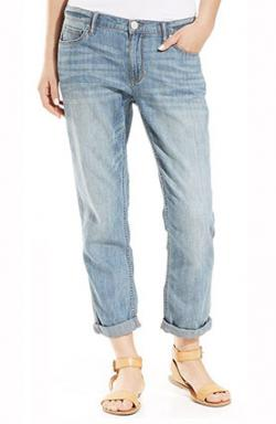Cuffed Womens Jeans