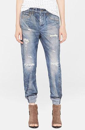 rag & bone/JEAN 'Pajama Jean' Print Sweatpants (Rainier)