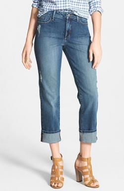NYDJ 'Bobbie' Distressed Boyfriend Jeans