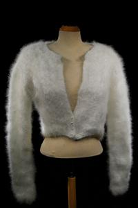 Princess Kate Angora Shrug