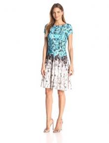 Julian Taylor floral print dress