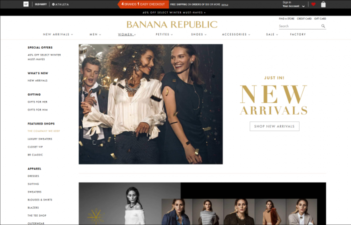 Banana Republic screenshot