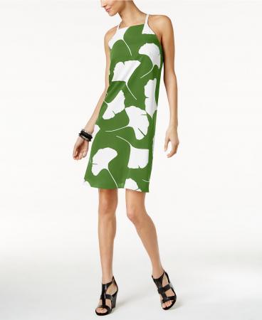 Alfani Printed Halter Dress