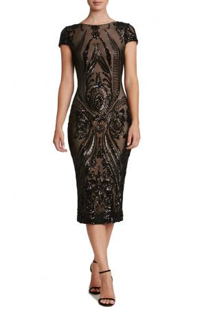 Brandi Sequin Body-Con Dress