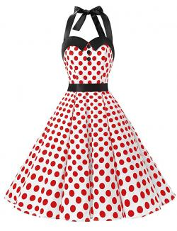 Rockabilly Halter Dress