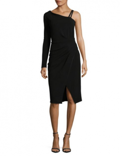 Rachel Rachel Roy One-Shoulder Midi Dress