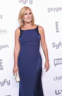 Sonja Morgan wearing Silk Georgette Gown