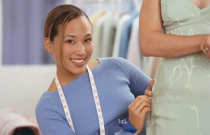Seamstress Taking Measurements
