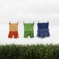bloomers drying