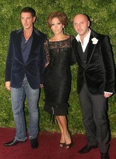 Dolce and Gabbana J Lo dress