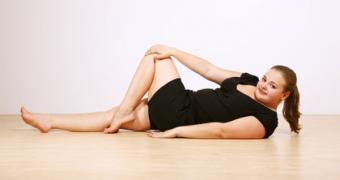 plus size yoga practice
