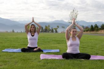yoga outside