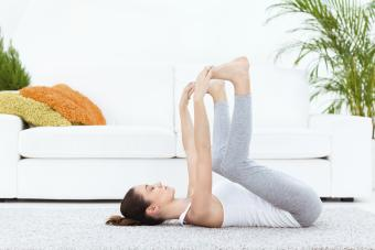 Happy Baby Yoga Pose to Loosen You Up