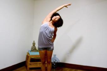 Yoga Standing Side Bend