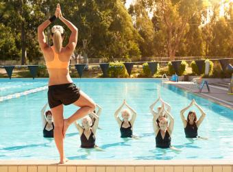 What Is Water Yoga?