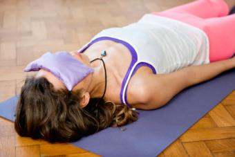 corpse position in Yoga