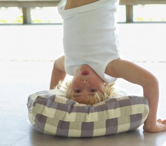 Cushion your inversion practice