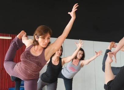 yogis in class