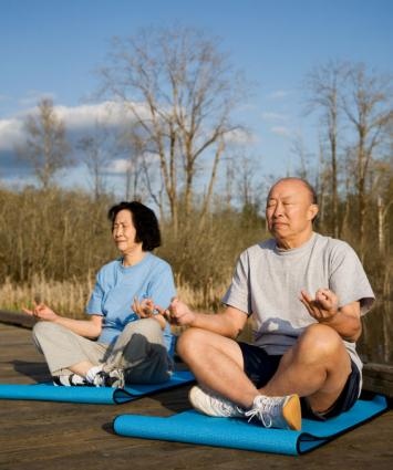 basic yoga poses for senior citizens  lovetoknow