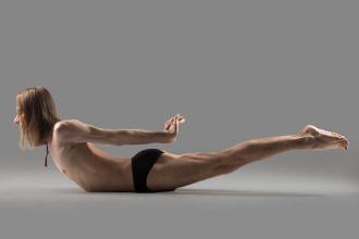 Yoga: Locust Pose