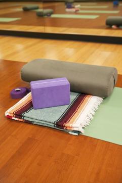 yoga supplies