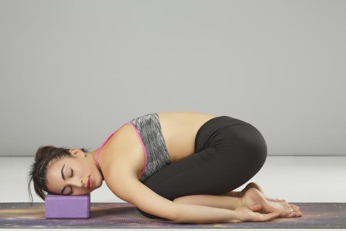 Practicing advanced yoga
