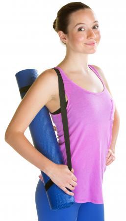carrying yoga mat