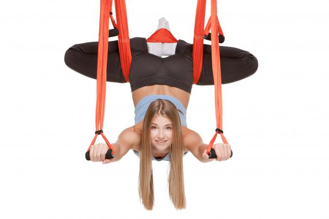 antigravity yoga exercise