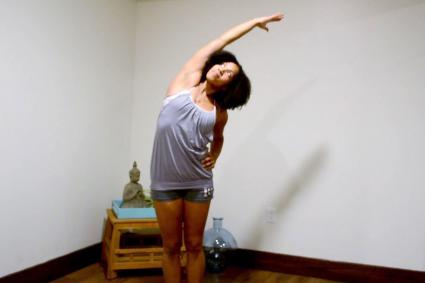 Yoga Standing Side Bend