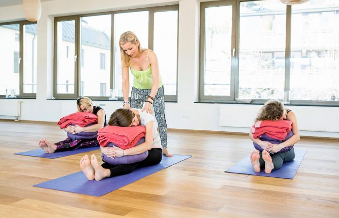 Yoga Bolster Poses
