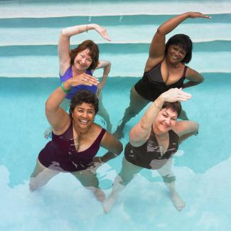 6 water yoga poses for beginners  lovetoknow